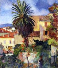 A Garden at St Tropez - Henri Lebasque