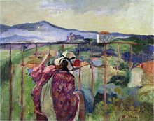 On the Balcony - Henri Lebasque