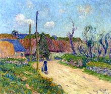 A Farm - Henri Moret