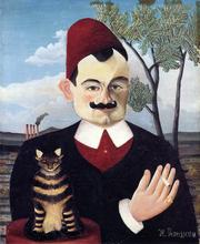 Portrait of Monsieur X. (Pierre Loti) - Henri Rousseau