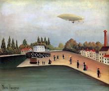 View of the Quai d'Ovry - Henri Rousseau