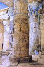 Hall of Columns, Philae - Henry Roderick Newman