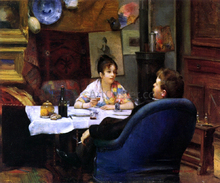 A Studio Lunch - Henry Siddons Mowbray