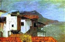 Seashore. The Crimea - Isaac Ilich Levitan