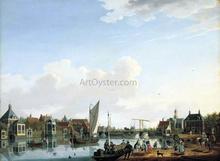 Ouderkerk, near Amsterdam - Isaak Ouwater