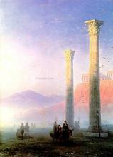 Acropolis of Athens - Ivan Constantinovich Aivazovsky