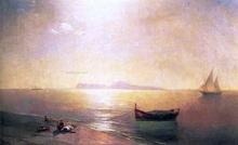 Calm on the Mediterranean Sea - Ivan Constantinovich Aivazovsky