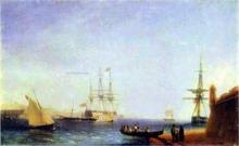 Malta, Valetto Harbour - Ivan Constantinovich Aivazovsky