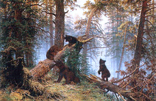 Morning in the Pine-tree Forest - Ivan Ivanovich Shishkin