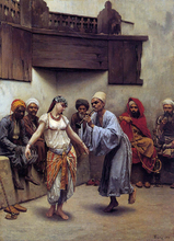 Dancing in a Cafe in Cairo - Jacques Baugnies