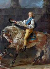 Equestrian Portrait of Stanislaw Kostka Potocki