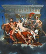 Mars Being Disarmed by Venus and the Three Graces