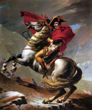 Napoleon at the Saint Bernard Pass