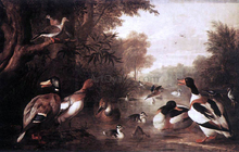 Landscape with Ducks - Jakab Bogdany