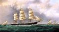 A Ship's Portrait near Sandy Hook
