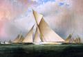 America's Cup Yacht VIGILANT, 1893