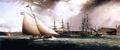 Chapman Dock and Old Brooklyn Navy Yard, East River, New York