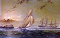 English Steamer off Staten Island