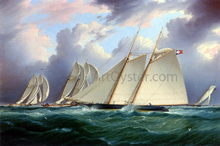 Yacht 'Orion' - James E Buttersworth