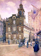 The State House from Park Street, Boston - James Kinsella