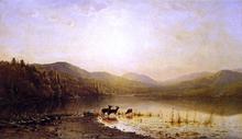 At the Water's Edge - James McDougal Hart