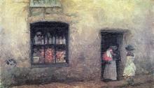 Orange Note: Sweet Shop - James McNeill Whistler