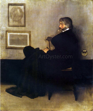 Arrangement in Grey and Black, No.2: Portrait of Thomas Carlyle - James McNeill Whistler