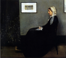 Arrangement in Grey and Black: Portrait of the Painter's Mother - James McNeill Whistler