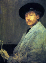 Arrangement in Grey: Portrait of the Painter - James McNeill Whistler