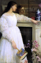 Symphony in White, No. 2: The Little White Girl - James McNeill Whistler