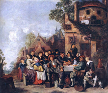 Tavern of the Crescent Moon - Jan Miense Molenaer