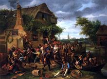 A Village Revel - Jan Steen