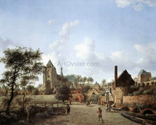 Approach to the Town of Veere - Jan Van der Heyden