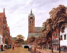 View of Delft - Jan Van der Heyden
