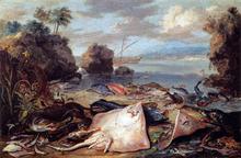 The Day's Catch - Jan Van I Kessel