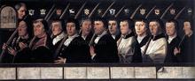 The 12 Members of the Haarlem Brotherhood of Jerusalem Pilgrims