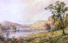 Greenwood Lake, New Jersey - Jasper Francis Cropsey