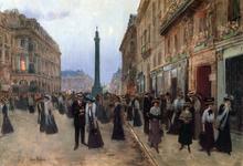 La Rue de la Paix - Jean-Georges Beraud