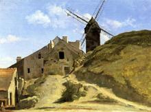 A Windmill in Montmartre