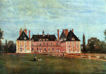 Chateau de Rosny - Jean-Baptiste-Camille Corot