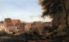 Rome - View from the Farnese Gardens, Noon (also known as Study of the Coliseum)