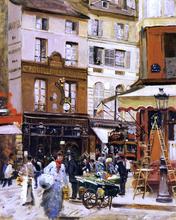 Street Scenes Paintings