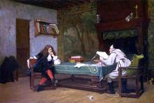 A Collaboration - Corneille and Moliere - Jean-Leon Gerome