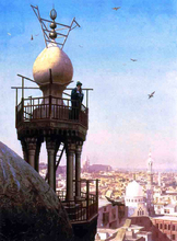 A Muezzin Calling the Faithful to Prayer - Jean-Leon Gerome