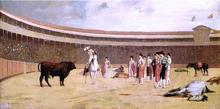 Bull and Picador - Jean-Leon Gerome