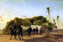Dam on the Nile - Jean-Leon Gerome