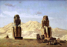 Memnon and Sesostris, (study) - Jean-Leon Gerome