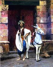Sais and His Donkey - Jean-Leon Gerome
