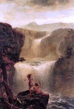 Hiawatha and Minnehaha on Their Honeymoon