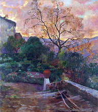 Garden of Spanish Farmhouse - Joaquin Sorolla Y Bastida